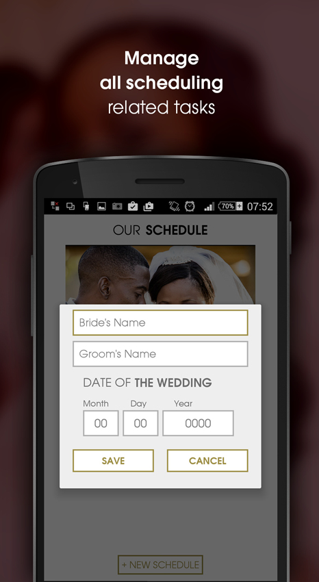 The Wedding Planner- screenshot