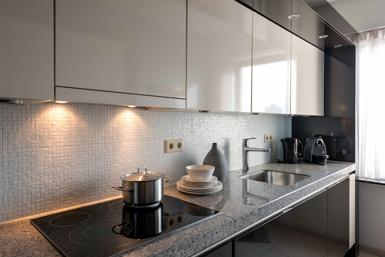 Fully equipped kitchen at Teilingen Apartments