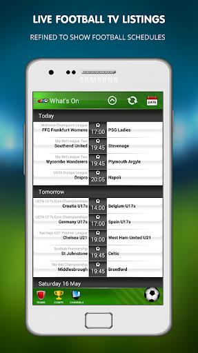 Live Football on TV 1.14 screenshots 3
