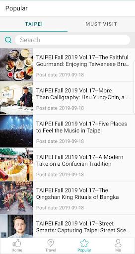 Travel Taipei screenshot 3