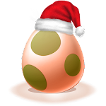 Let's poke the egg : Christmas Icon