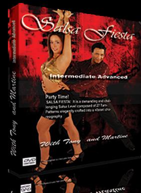 Salsa fiesta DVD Intermediate Level
