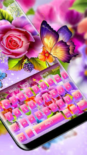 App Color shiny rose theme keyboard APK for Windows Phone