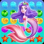 Ocean Mermaid Blast Icon
