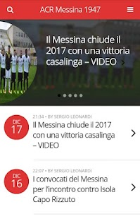 Messina Calcio- screenshot thumbnail