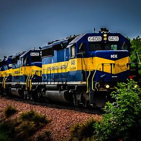 by Marlin Roseland - Transportation Trains