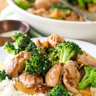 Chicken and Broccoli Stir Fry.