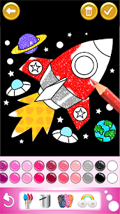 Glitter Coloring and Drawing Book for Kids 4