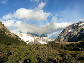 Photo: View of Cerro Torre from far back