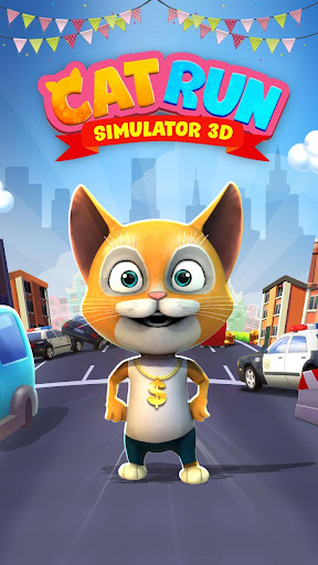 Cat Run Simulator 3D : Build & Design Home 2.3 screenshots 1