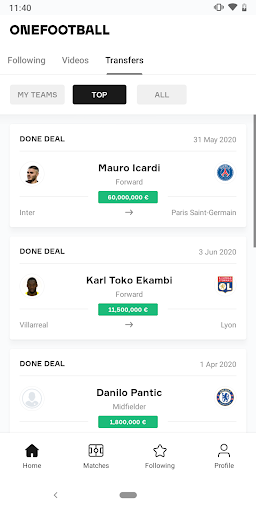 OneFootball - Soccer Scores screenshot 6