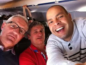 Photo: Selfie dans l'avion