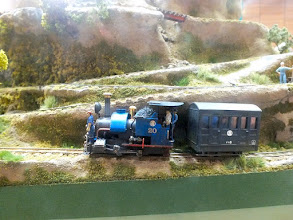 Photo: 137 Here is the very much shortened but instantly recognisable Himalaya & Darjeeling North British 0-4-0ST commencing the ascent of the mountain .