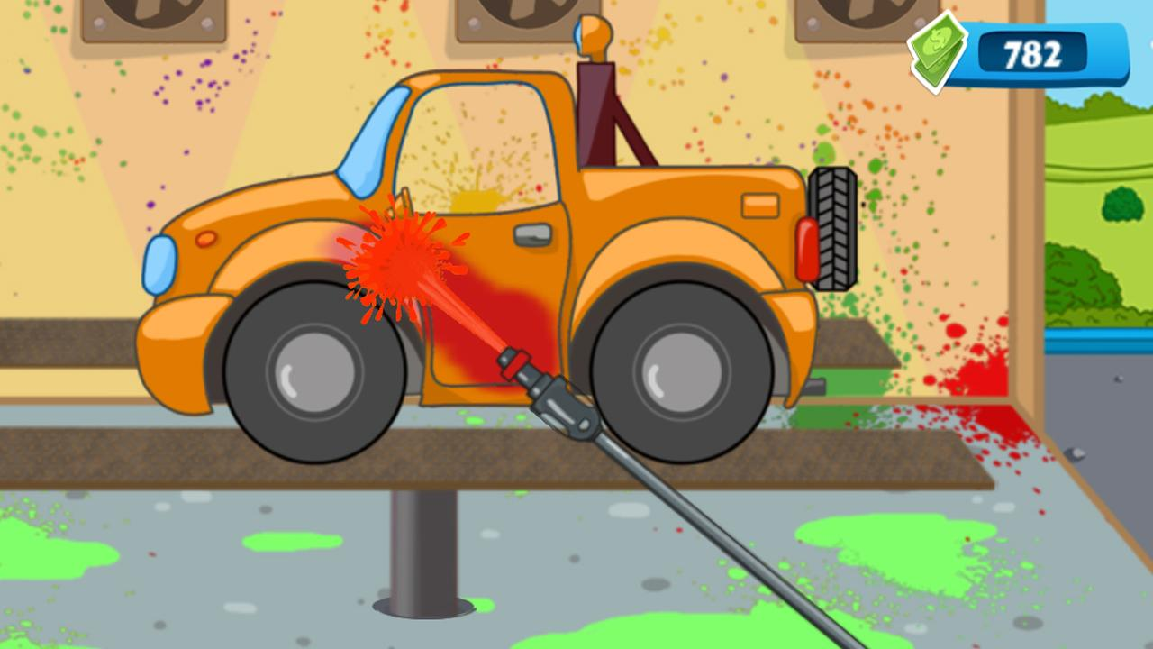 Kids Car Wash Garage for Boys- screenshot