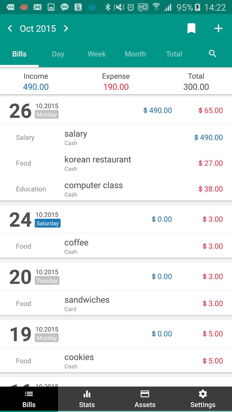 Money Manager (+PC Editing) Screenshot 8