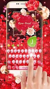 Romantic red rose flower - náhled
