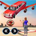 Modern Flying Car Limousine Taxi Simulator Games