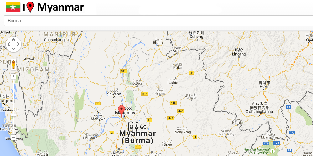 Myanmar Map Android Apps On Google Play - Myanmar map