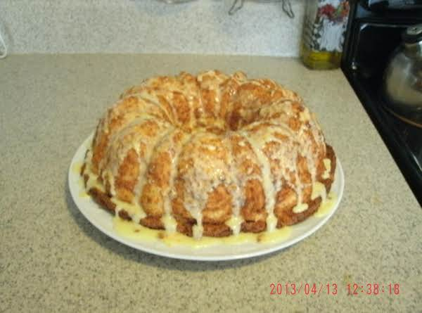 Pineapple Angel Food Cake With Orange Glaze Recipe