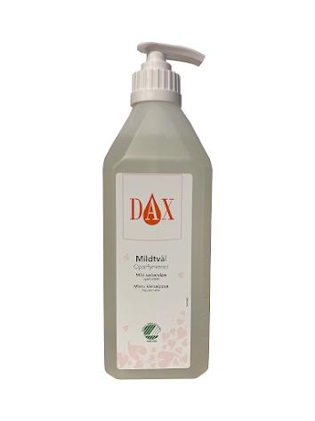 DAX/KIILTO Mildtvål oparf 600 ml