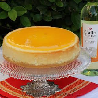 Orange Creamsicle Cheesecake #SundaySupper.