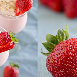 Strawberry Fluffernutter Milkshake