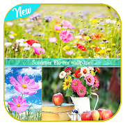 Summer Flower Life wallpaper