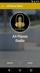All Flavas Radio- screenshot thumbnail