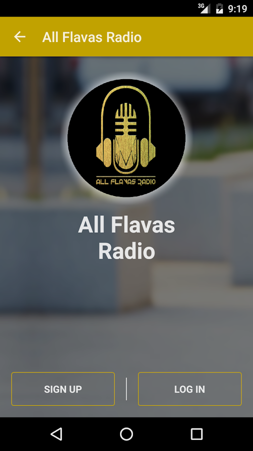 All Flavas Radio- screenshot