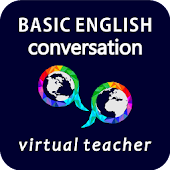 Conversation assistant & 45-step English course