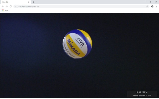 Volleyball New Tab & Wallpapers Collection