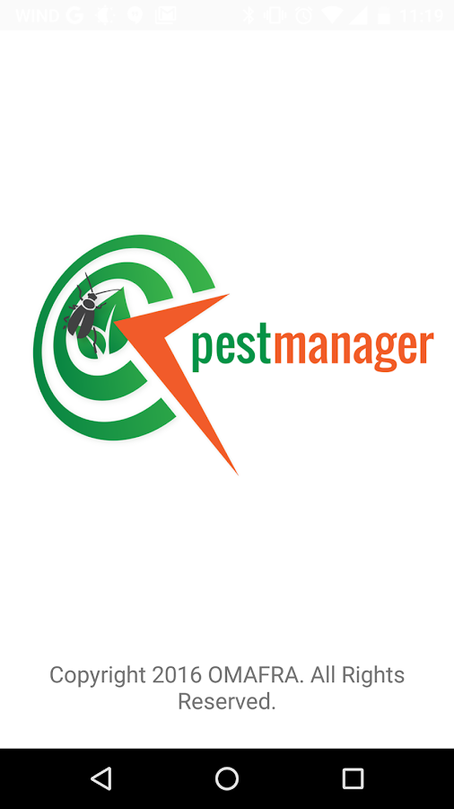 Pest Manager- screenshot