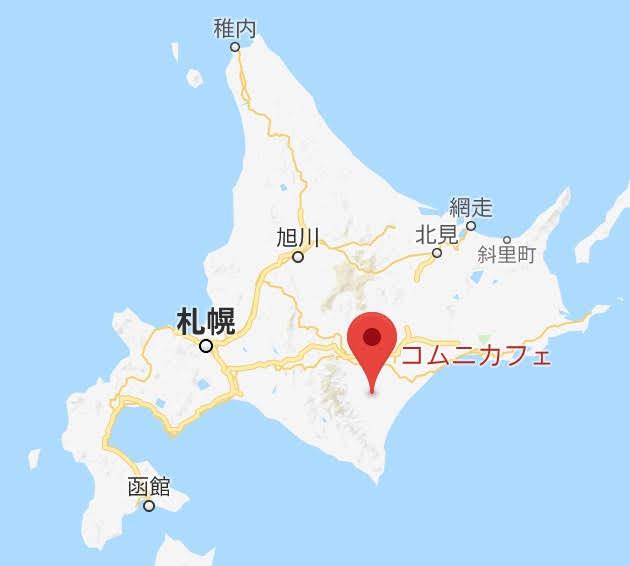 地図:コムニカフェ
