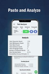 Text Analyzer Pro MOD (Paid) 1
