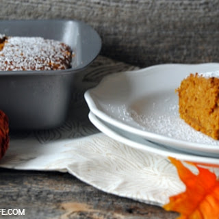 Pumpkin Gingerbread Snack Cake