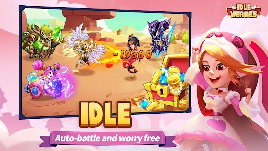 Idle Heroes MOD (Unlimited Reward/VIP/Cards) 3