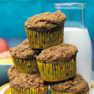 Whole Wheat Carrot Apple Muffins