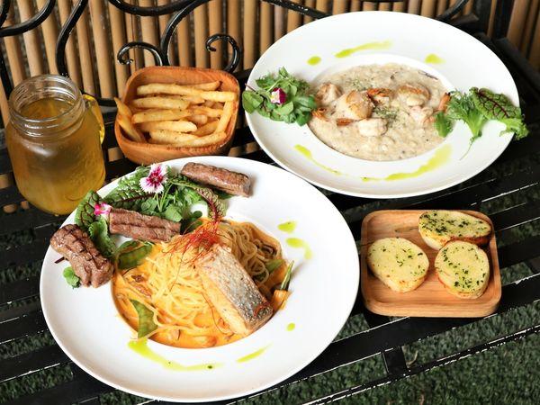 高沐GaoMu手作料理餐廳Pasta & Steak。雙主菜搭配誠意滿滿
