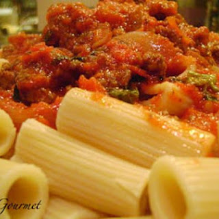 Quick & Easy ~ Delicious Tomato Sauce with Meat!!!