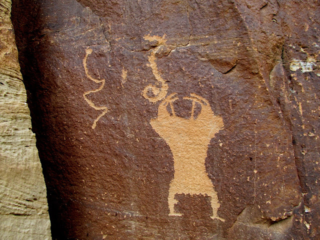 Really funky petroglyph
