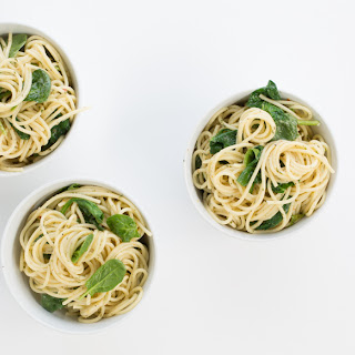 Spinach and Herb Linguine