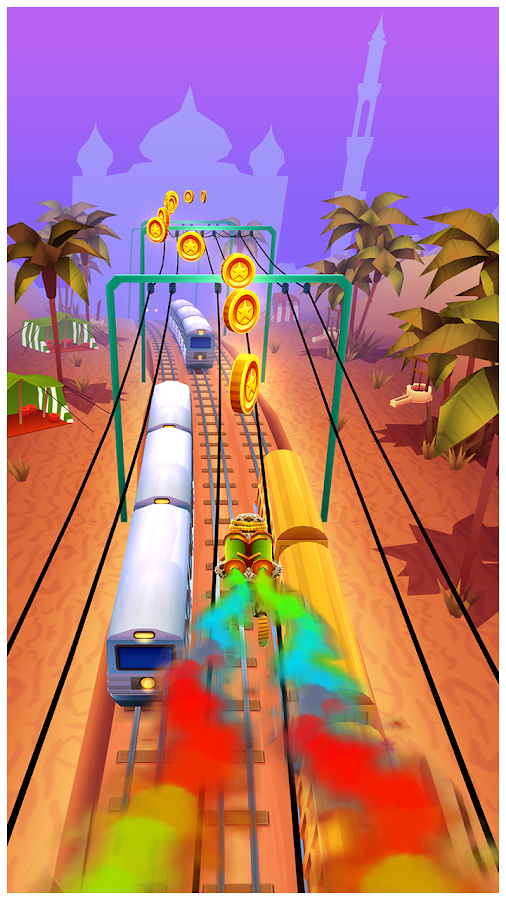 Subway Surfers: captura de pantalla