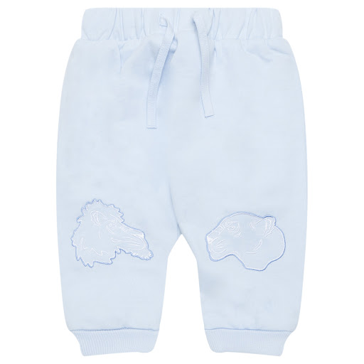 Primary image of Kenzo Kids Blue Cotton Joggers