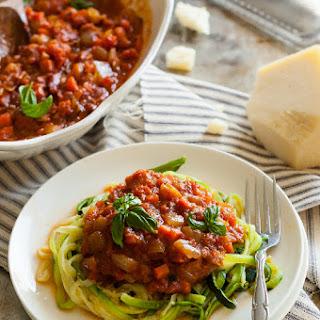 Chunky Vegetable & Roasted Tomato Marinara Sauce