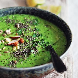 Alkalizing Green Detox Soup.