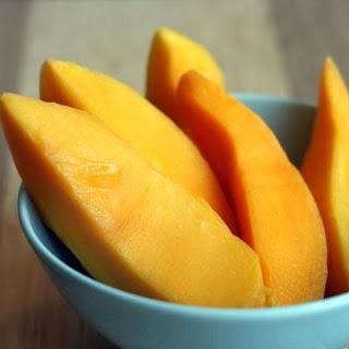 Frozen Spicy Mango Daiquiri.