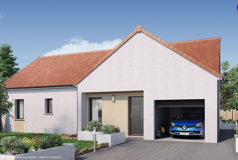 Vente Terrain + Maison - Terrain : 815m² - Maison : 83m² à Montagny-lès-Beaune (21200)