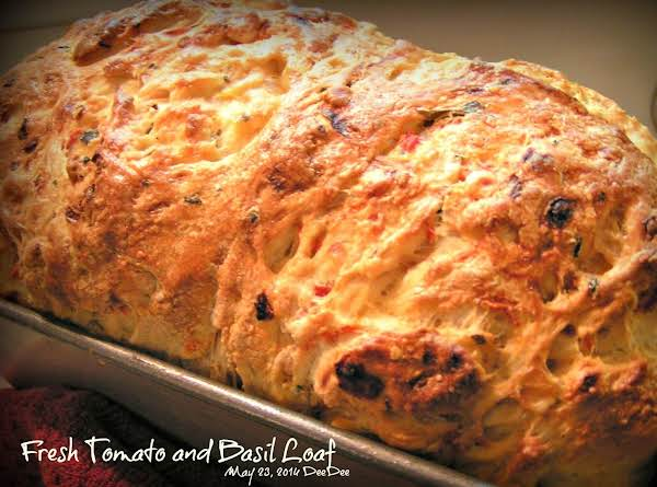 Fresh Tomato And Basil Loaf (bread Machine) Recipe