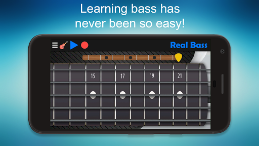 Real Bass - Playing bass made easy 6.2 gameplay | AndroidFC 2