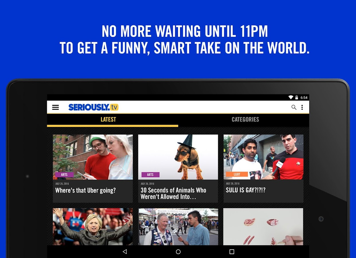 Seriously.TV- screenshot
